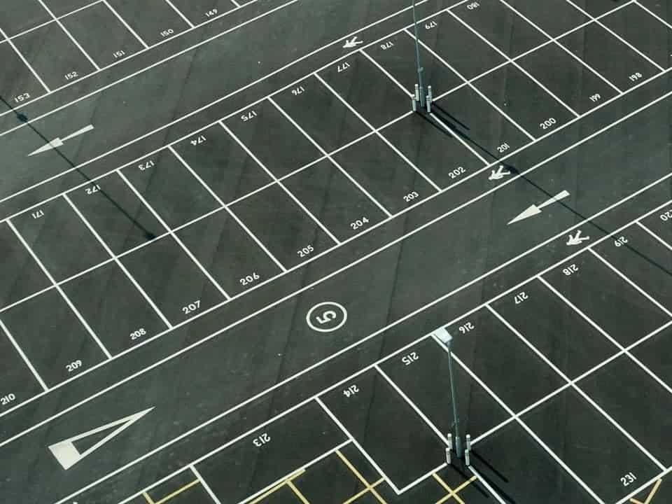 solar panel car park