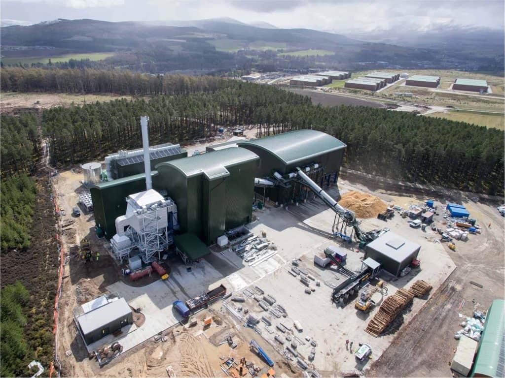 16MW Biomass CHP Speyside