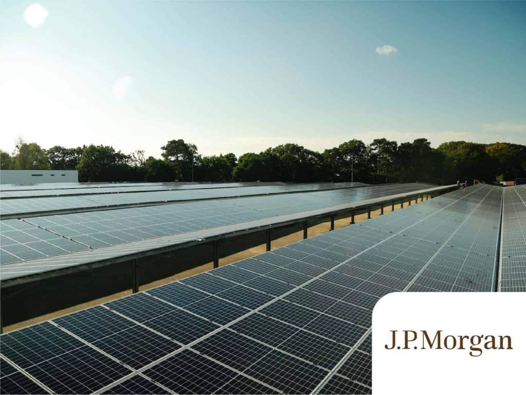 Case studies - JP Morgan solar car park