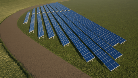 British Army Solar Installation